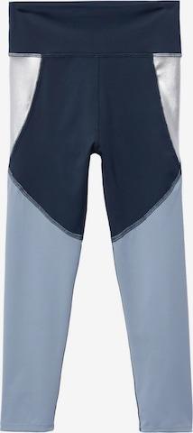 Leggings 'Colette' de la MANGO KIDS pe albastru