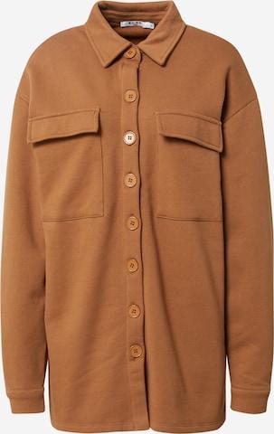NA-KD Between-Season Jacket in Brown