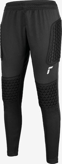 REUSCH Torwarthose 'Contest II Pant Advance Junior' in schwarz / silber, Produktansicht