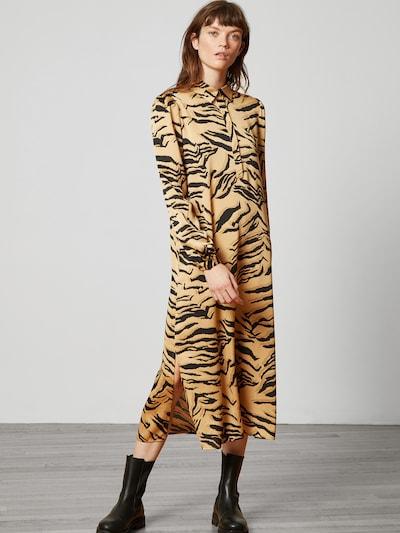 Rochie tip bluză 'Aria' Aligne pe bej / negru, Vizualizare model