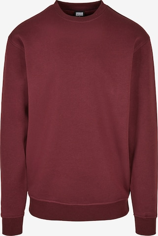 Urban Classics Sweatshirt in Rot