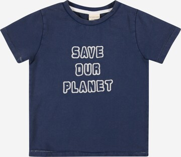 Turtledove London T-Shirt 'Save Out Planet' in Blau