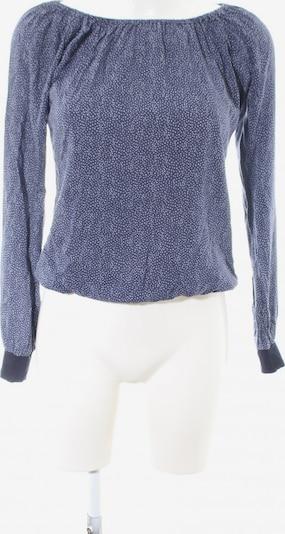 UVR Connected Carmen-Bluse in XS in blau / weiß, Produktansicht
