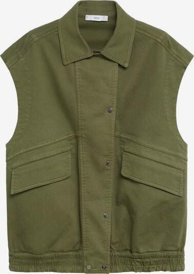 MANGO Kamizelka 'Pop' w kolorze khakim, Podgląd produktu