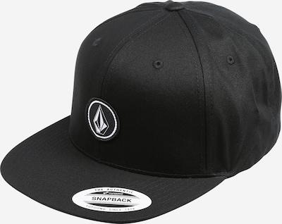 Volcom Cap 'QUARTER' in schwarz / weiß, Produktansicht