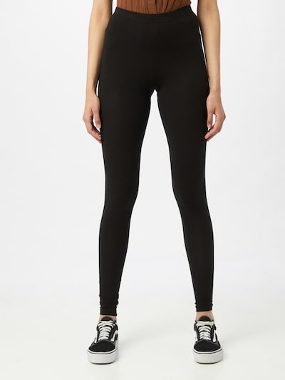 PIECES Leggings 'KIKI' in schwarz, Modelansicht