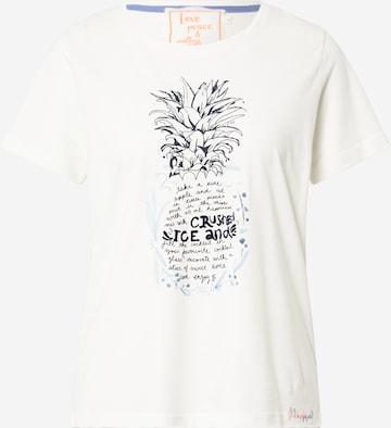 LIEBLINGSSTÜCK T-Shirt 'Cirsten' in Weiß