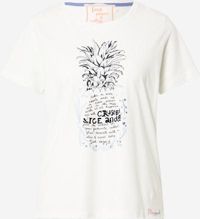 LIEBLINGSSTÜCK T-shirt 'Cirsten' en bleu clair / noir / blanc cassé, Vue avec produit