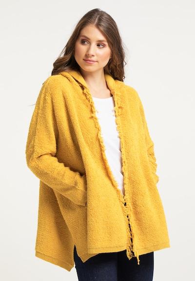 IZIA Pletený kabát - žltá, Model/-ka
