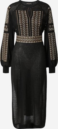 Mes Demoiselles Adīta kleita 'ELVIRE', krāsa - Zelts / melns, Preces skats
