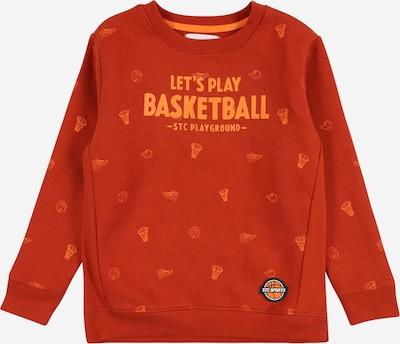 STACCATO Sweatshirt in orange / rostrot, Produktansicht