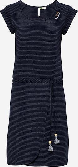 Ragwear Kleid in navy / weiß, Produktansicht