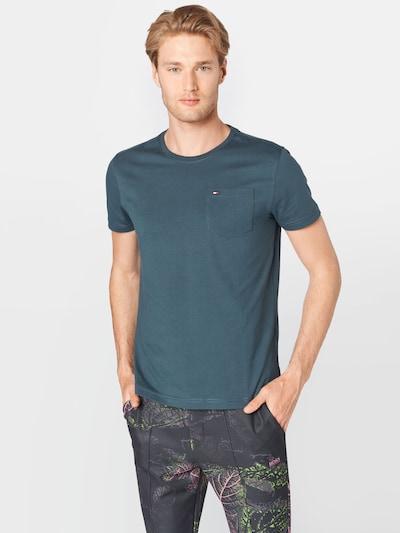 TOMMY HILFIGER T-Shirt en bleu pastel / rouge / blanc: Vue de face