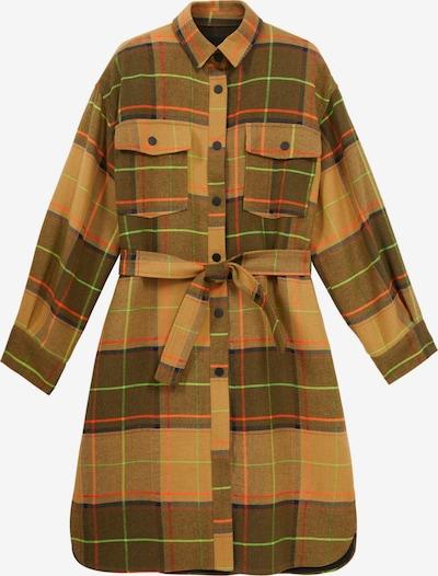 sötétkék / barna / khaki / kiwi / lazac Desigual Átmeneti kabátok 'ABRIG', Termék nézet