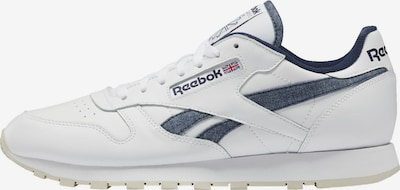 Reebok Classic Sneaker in blue denim / weiß, Produktansicht