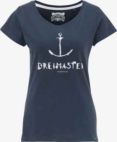 DreiMaster Vintage T-Shirt in blau, Produktansicht