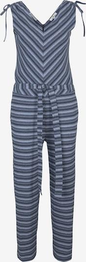 TOM TAILOR Jumpsuit in dunkelblau / weiß, Produktansicht