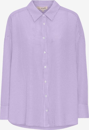 A-VIEW Shirt  'Sonja' in lila / weiß, Produktansicht