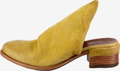A.S.98 Pantoletten in gelb, Produktansicht
