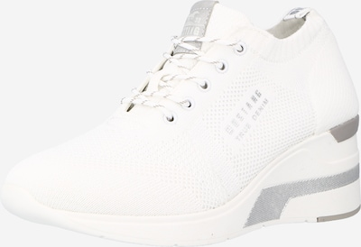 Sneaker bassa MUSTANG di colore grigio chiaro / bianco, Visualizzazione prodotti