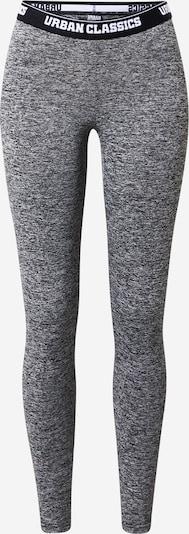 Urban Classics Leggings in graumeliert / schwarz / weiß, Produktansicht