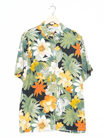 Doris Streich Blumenbluse in XXXL-4XL in grün, Produktansicht