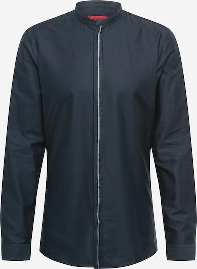 HUGO Shirt 'Enrique' in black / silver, Item view