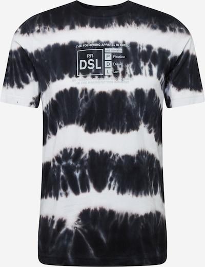 DIESEL Tričko 'JUST' - černá / bílá, Produkt