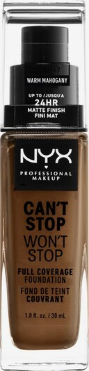 NYX Professional Makeup Foundation 'Can't Stop Won't Stop' in Beige, Item view
