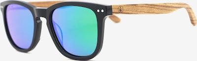 Wave Hawaii Sonnenbrille ' Palmar' in hellbraun / mischfarben / schwarz, Produktansicht