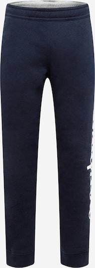 Champion Authentic Athletic Apparel Pantalon en bleu foncé / blanc, Vue avec produit