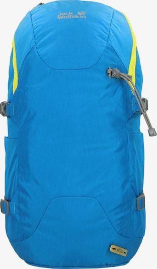JACK WOLFSKIN Rucksack in blau / gelb, Produktansicht