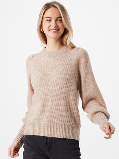 Neo Noir Sweter 'Kelsey' w kolorze beżowym, Podgląd na modelu(-ce)