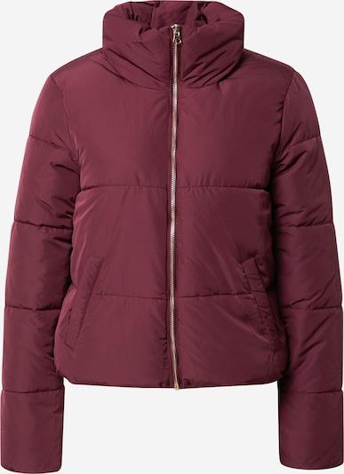 JDY Winter Jacket 'Erica' in Wine red, Item view