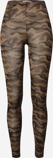 b.young Leggings 'Tanina' in braun / dunkelgrün / schwarz, Produktansicht