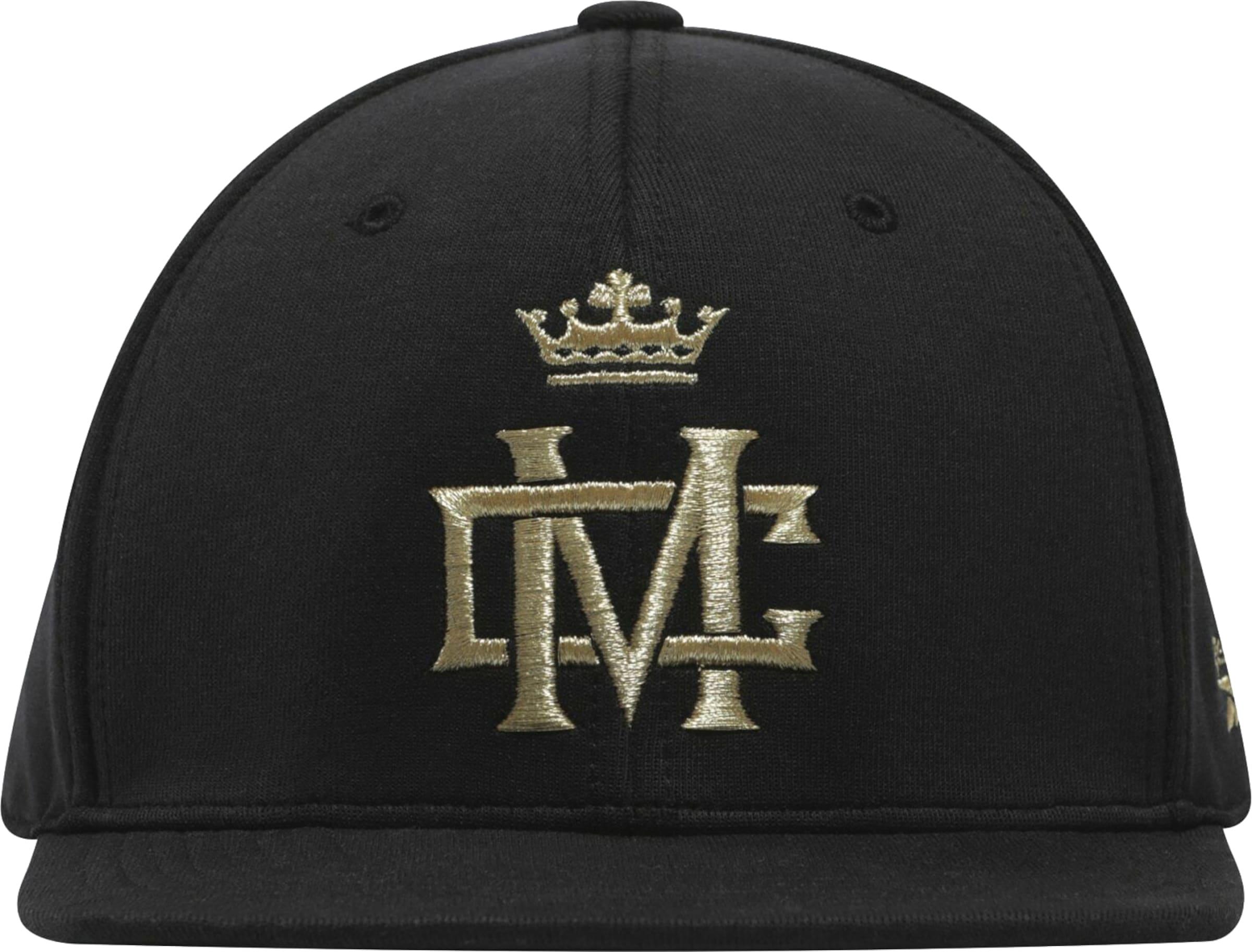 REEBOK Cap in gold / schwarz