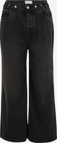 Noisy May Petite Jeans 'ASHLEY' in Schwarz