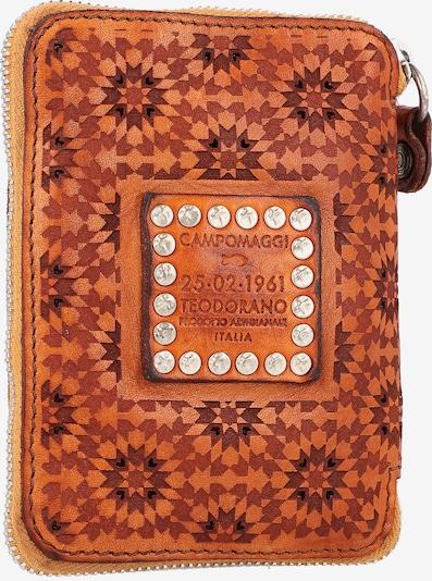 Campomaggi Geldbörse in braun / orange, Produktansicht