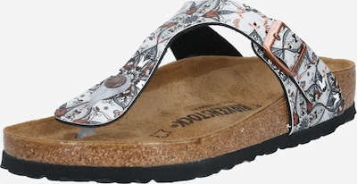 BIRKENSTOCK T-bar sandals in mixed colours, Item view