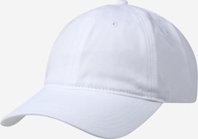 LACOSTE Casquette en blanc, Vue avec produit