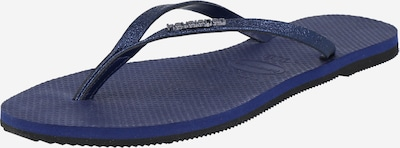 HAVAIANAS Zehentrenner 'YOU SHINE' in navy, Produktansicht