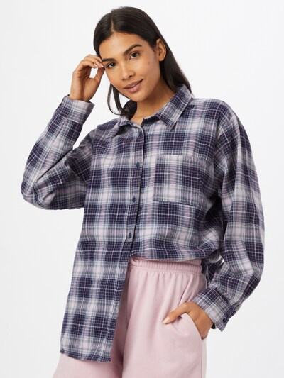 Cotton On Bluse in navy / opal / lila / weiß, Modelansicht