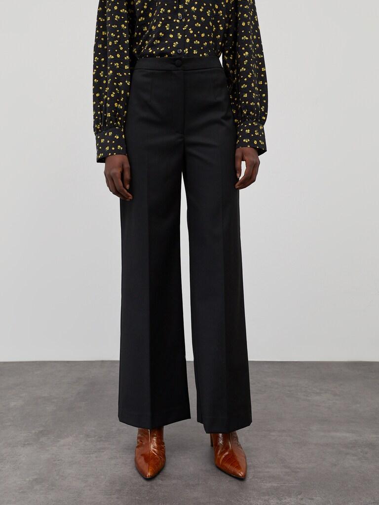 Pantalon à plis 'Milana'