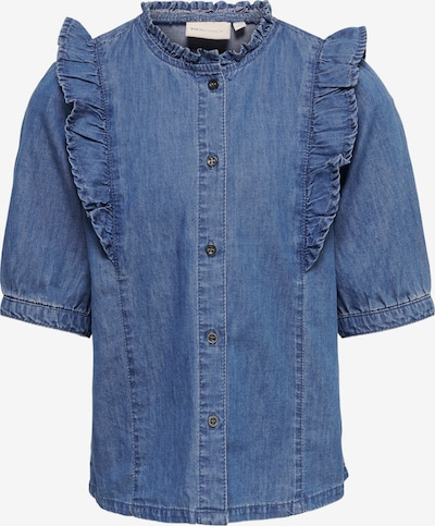 KIDS ONLY Blouse 'Pema' in de kleur Blauw denim, Productweergave