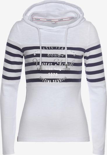KangaROOS Sweatshirt in blau / weiß, Produktansicht