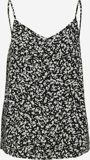 Selected Femme Petite Top 'SLFUMA' in de kleur Zwart / Wit, Productweergave