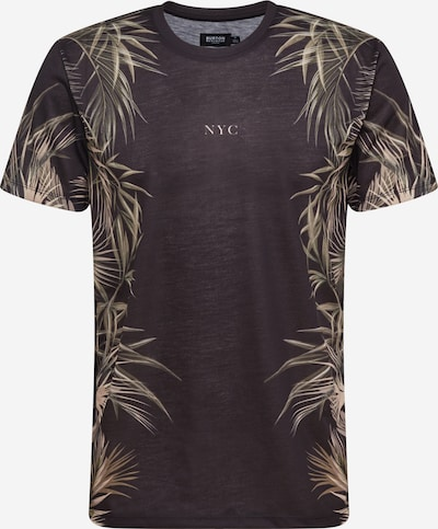 BURTON MENSWEAR LONDON Shirt 'NYC' in beige / oliv / schwarz, Produktansicht
