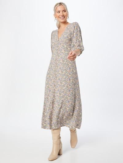 Rochie tip bluză 'MONIQUE' Envii pe nisipiu / albastru / verde deschis / roz / alb, Vizualizare model