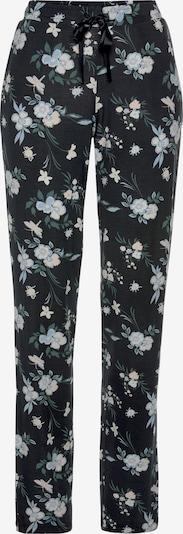 SCHIESSER Pyjamahose in mischfarben / schwarz, Produktansicht