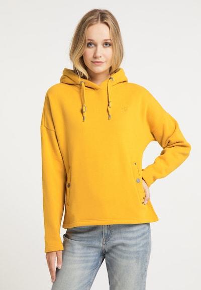 DreiMaster Vintage Sweat-shirt en jaune d'or: Vue de face